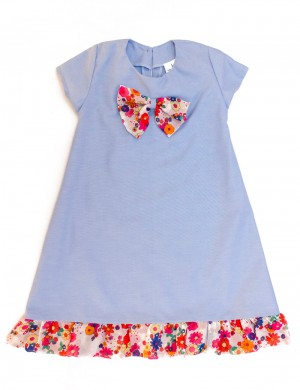 Blue Flower Bomb dress