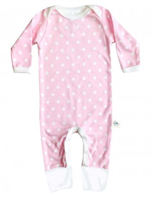 Jumpsuit Pink Dotty