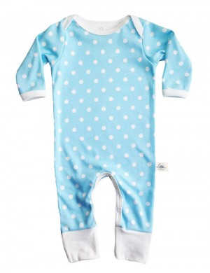 Jumpsuit Blue Dotty