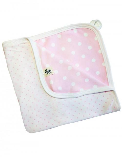 Pink Dotty Comforter