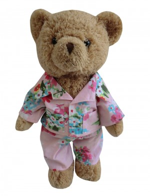 FLOWER POWER TEDDY BEAR