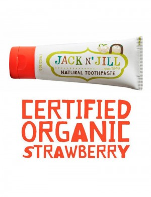 Jack n' Jill Organic Toothpaste Strawberry